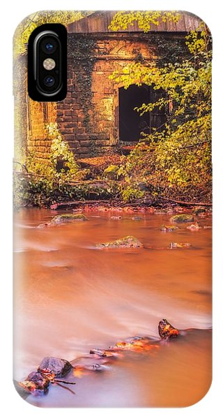 The Ruins Of An Old Mill IPhone Case