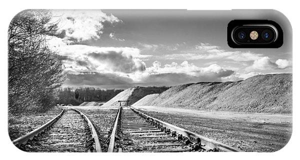 The Sand Quarry Tracks. IPhone Case