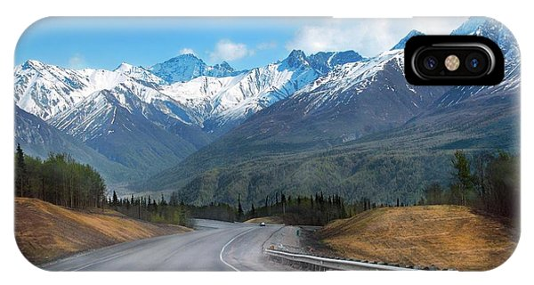 The Scenic Glenn Highway  IPhone Case