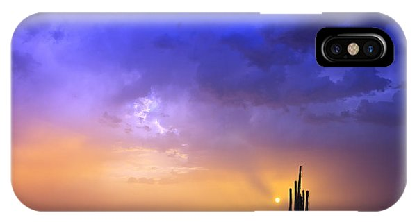 The Scent Of Rain IPhone Case