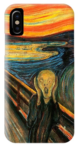 The Scream Edvard Munch 1893                    IPhone Case