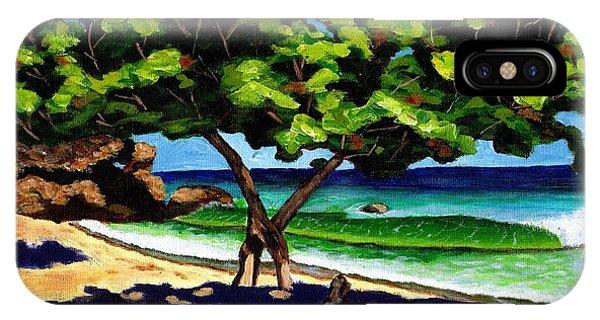 The Sea-grape Tree IPhone Case