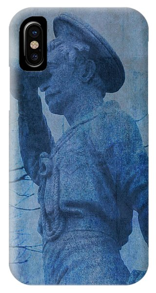 The Seaman In Blue IPhone Case