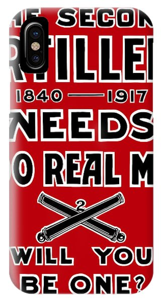 Wwi iPhone Case - The Second Artillery Needs 200 Real Men by War Is Hell Store