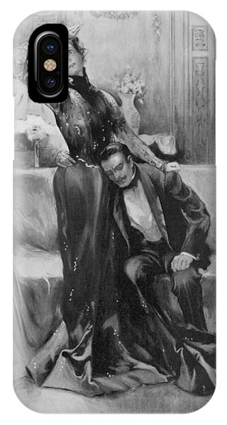 The Second Mrs Tanqueray, Eleonora Duse Phone Case by  Illustrated London News Ltd/Mar