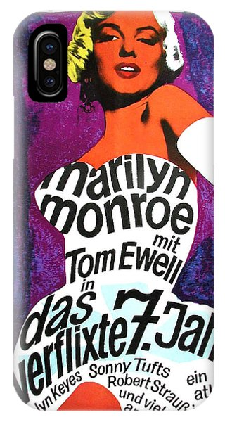 The Seven Year Itch German IPhone Case