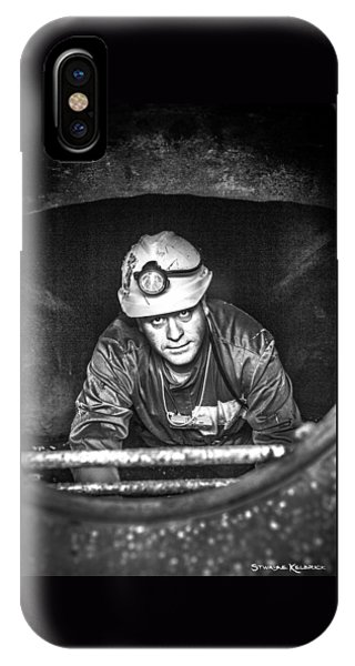 IPhone Case featuring the photograph The Sewer Guy by Stwayne Keubrick