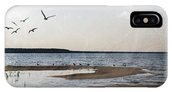 The Shallows At Whitefish Bay IPhone Case