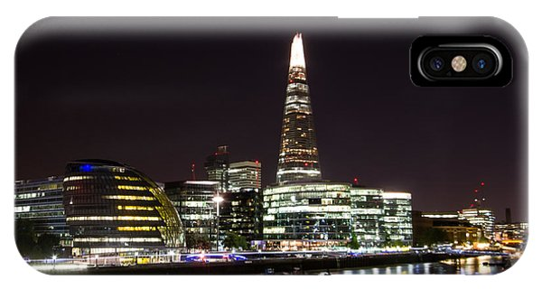 The Shard And City Hall  Phone Case by Wayne Molyneux