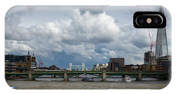 The Shard And Thames View IPhone Case