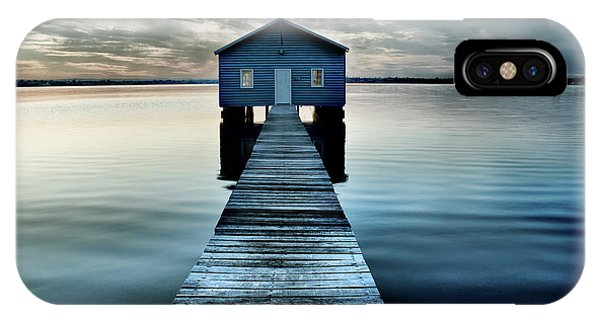 The Shed Upon The Water IPhone Case