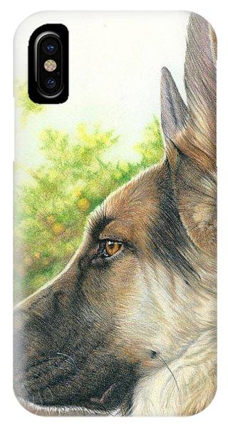 The Shepherd Watching IPhone Case