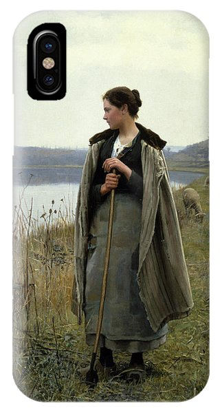 The Shepherdess Of Rolleboise IPhone Case