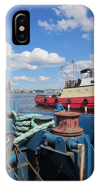 The Shipyard IPhone Case