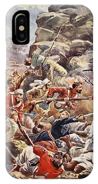British Empire iPhone Case - The Siege Of Delhi, 1857 Storming by English School
