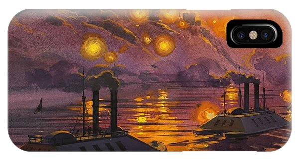 Mississippi River iPhone Case - The Siege Of Vicksburg by Angus McBride