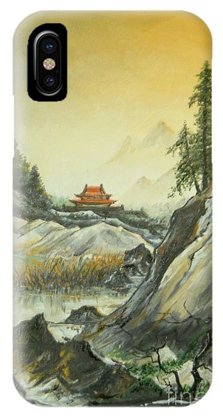 The Silence In The Mountains IPhone Case