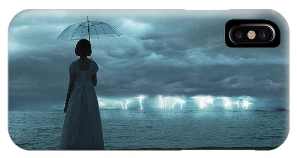 The Silent Sea Phone Case by Terry F