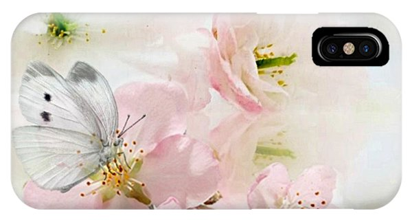 The Silent World Of A Butterfly IPhone Case
