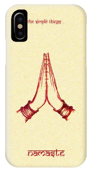 The Simple Things IPhone Case