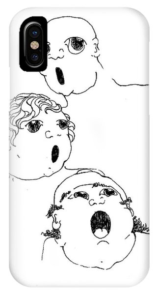 The Singers Phone Case by Joy Bradley