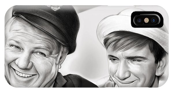 The iPhone Case - The Skipper And Gilligan by Greg Joens