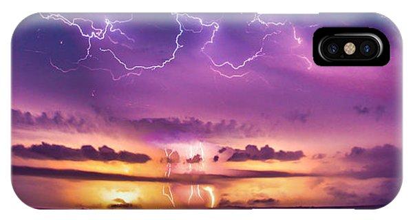 Nebraskasc iPhone Case - The Sky Was Talking To Me... Part 2 by NebraskaSC