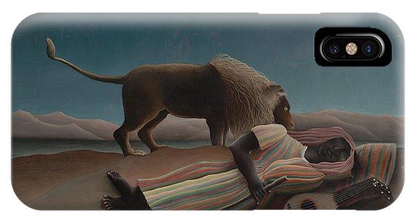 The Sleeping Gypsy IPhone Case