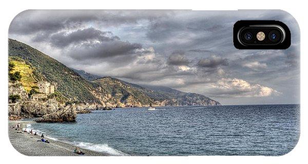 The Small Beach At Monterosso Al Mare IPhone Case