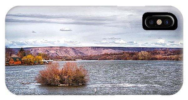The Snake River Near Hagerman Idaho IPhone Case