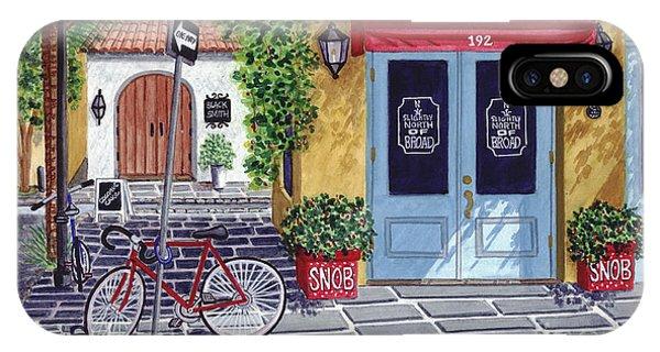 The Snob Restaurant IPhone Case
