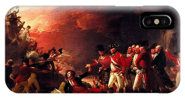 Revolutionary iPhone Case - The Sortie From Gibraltar, 1788 Oil On Canvas by John Trumbull