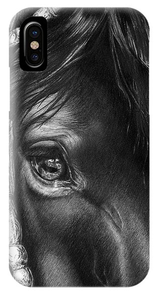 the Soul of a Horse IPhone Case