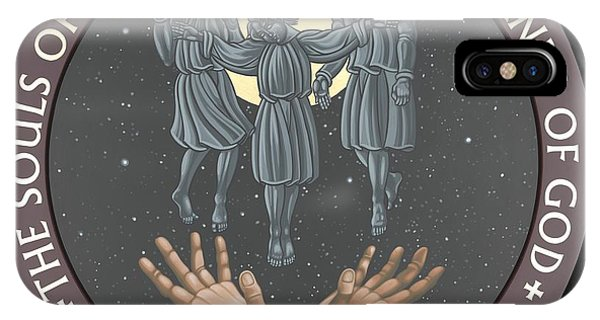 The Souls Of The Just Are In The Hands Of God 172 IPhone Case