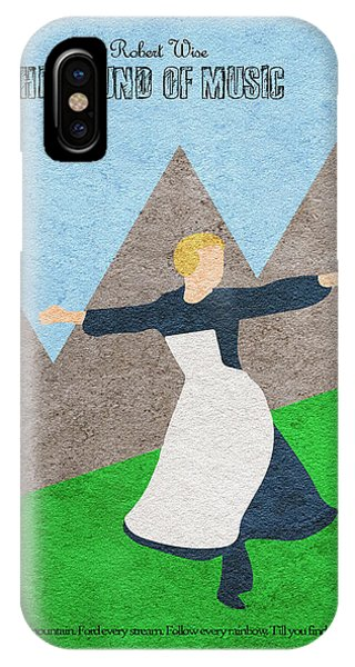 Vector iPhone Case - The Sound Of Music by Inspirowl Design