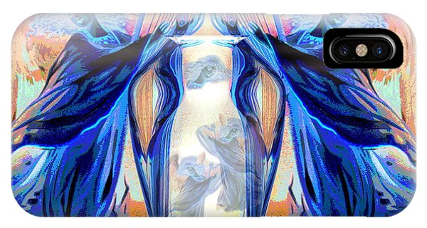 Harp iPhone Case - The Sounds Of Angels by Joyce Dickens