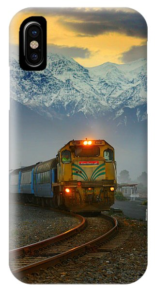 The Southerner Train New Zealand IPhone Case