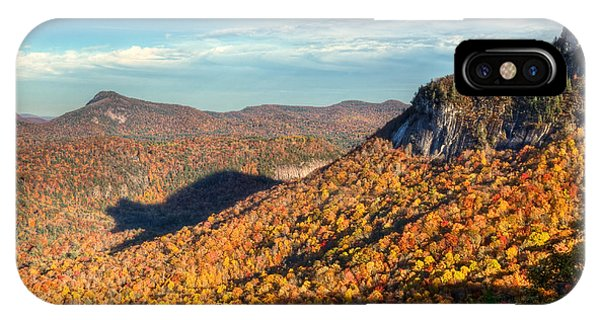 North Carolina Autumn Mountain Bear Shadow Nc IPhone Case