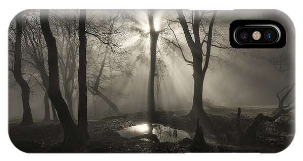 Fog iPhone Case - The Spirit by Juan I. Cuadrado