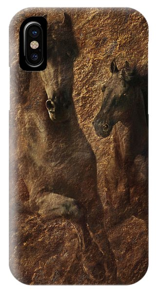The Spirit Of Black Sterling IPhone Case