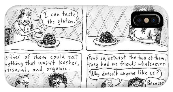 Organic iPhone Case - The Sprats  -  Four Panel Comic About The Sprats' by Roz Chast
