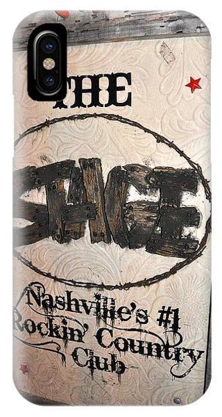 The Stage Nashville Phone Case by Toni Ryder