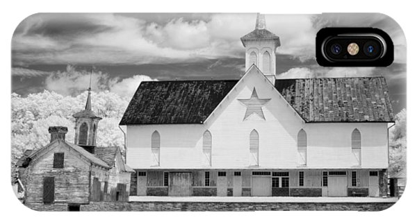 The Star Barn - Infrared IPhone Case