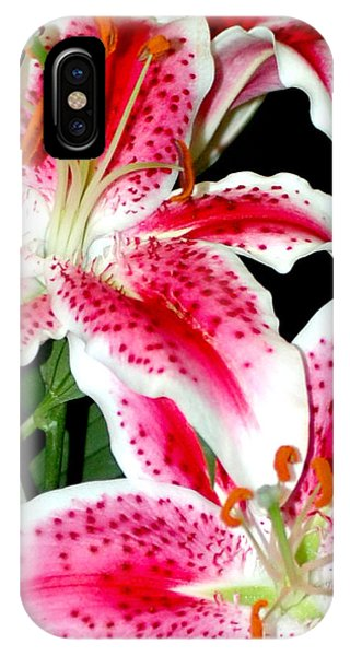 The Star Lily  IPhone Case