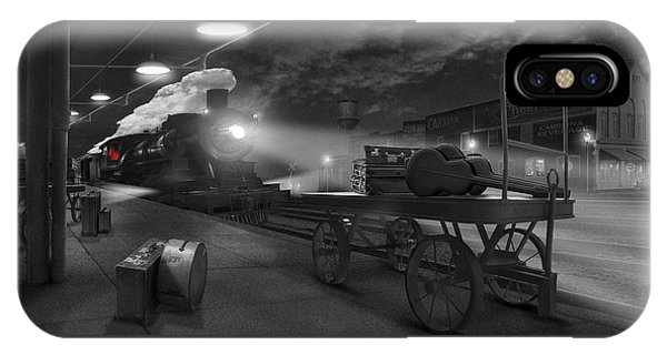 Railroad Station iPhone Case - The Station - Panoramic by Mike McGlothlen