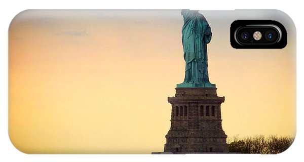 New York City iPhone Case - The Statue Of Liberty by Natasha Marco