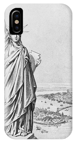 The Statue Of Liberty New York IPhone Case