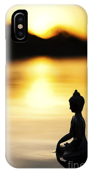 Buddhism iPhone Case - The Stillness Of Sunrise by Tim Gainey