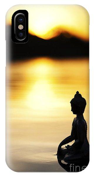 The Stillness Of Sunrise Phone Case by Tim Gainey