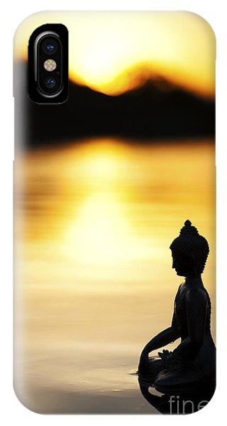 Divine Love iPhone Case - The Stillness Of Sunrise by Tim Gainey